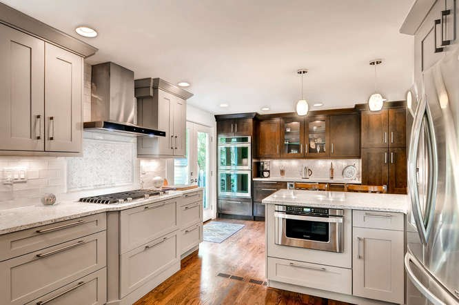 Contemporary kitchen design in Denver