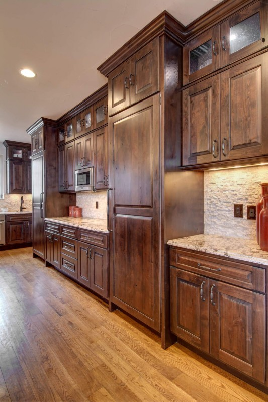 Custom wood cabinets in Denver