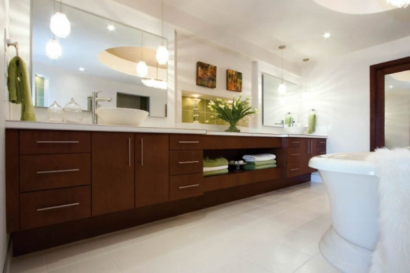 Batroom remodels in Denver by The Kitchen Showcase