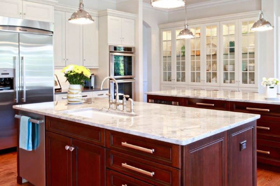 Traditional kitchen design in Denver