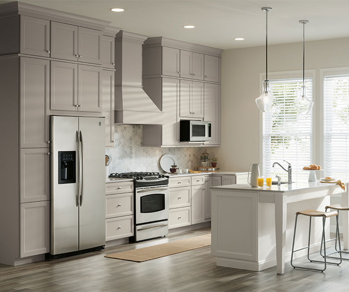Choosing the right gray for your kitchen